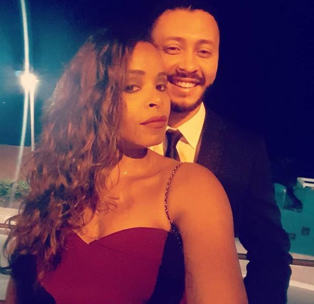 Roberta Rodrigues e o namorado, o empresário Guilherme Guimarães (Foto: Reprodução/Instagram)