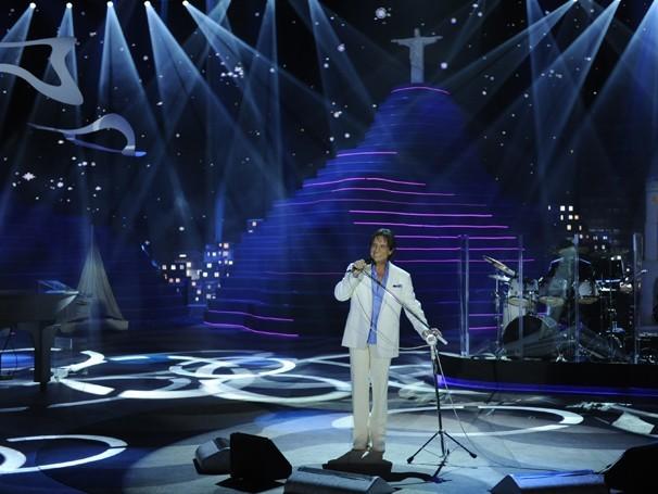 Roberto Carlos homenageia o RJ no especial 'Reflexões' (Foto: TV Globo / Divulgação)