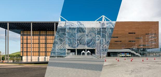 Estádios das Olimpíadas 2016 apostam na arquitetura nômade (Foto: Leonardo Finotti)