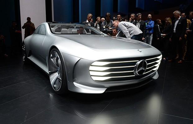 Mercedes IAA no Salão de Frankfurt 2015 (Foto: Newspress)