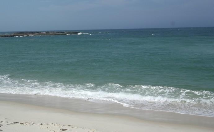 praia de itaúnas, saquarema (Foto: Gustavo Garcia / GloboEsporte.com)