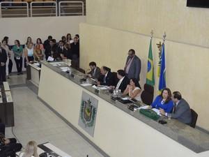 Assembleia teve 5 deputados que mudaram de partido (Foto: Abinoan Santiago/G1)