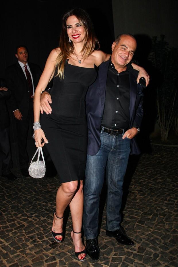 Luciana Gimenez e Marcelo de Carvalho (Foto: Manuela Scarpa e Marcos Ribas/Foto Rio News)
