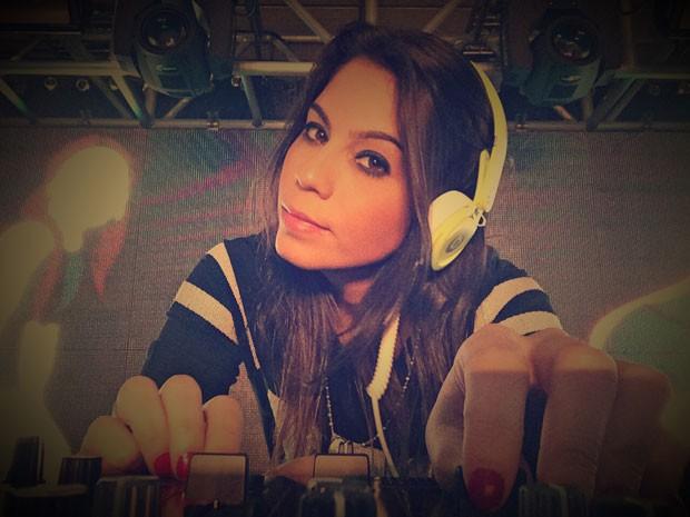 Helen Sancho é nova DJ do Caldeirão (Foto: Arquivo Pessoal)