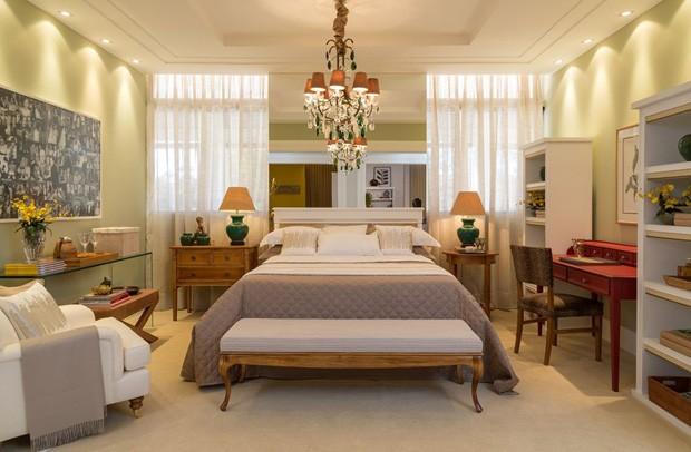14 quartos nos mais variados estilos Casa Vogue Decoração ~ Quarto Verde E Cinza
