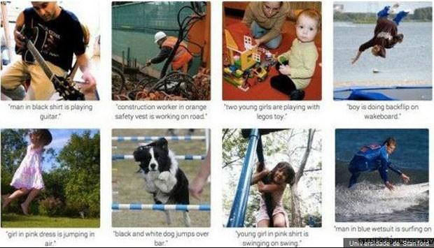 Pesquisa em Stanford criou programa capaz de identificar imagens com grande precisão. (Foto: BBC)