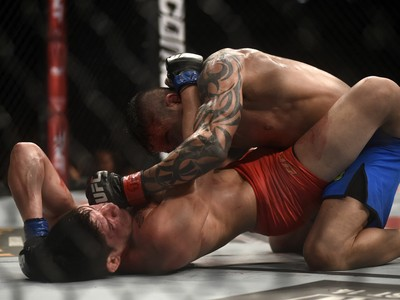 Dileno Lopes Reginaldo Vieira TUF Brasil 4 UFC Rio MMA UFC 190 (Foto: André Durão)