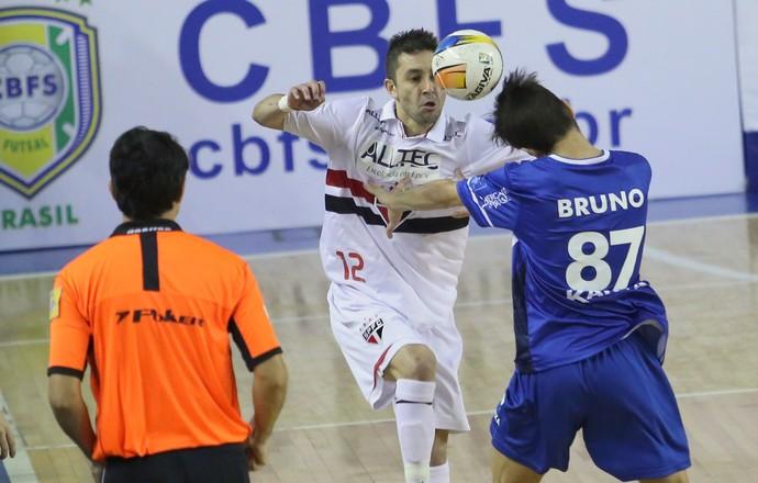 Minas x São Paulo Liga Nacional de Futsal (Foto: Duda Bairros/Minas Tênis Clube)
