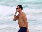 Leonardo DiCaprio curte férias em Cancún com amigos
