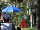 Fofura! Filho de Ju Paes rouba a cena em gravação com Angélica