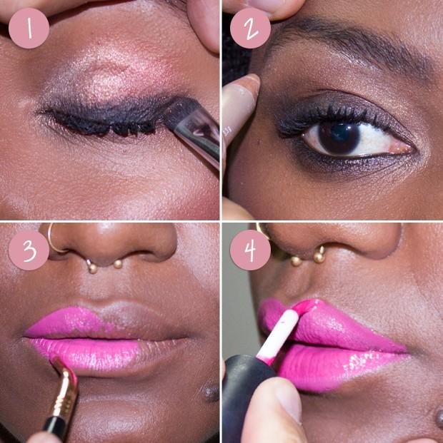 maquiagem (Foto: Reprodução / Instagram)