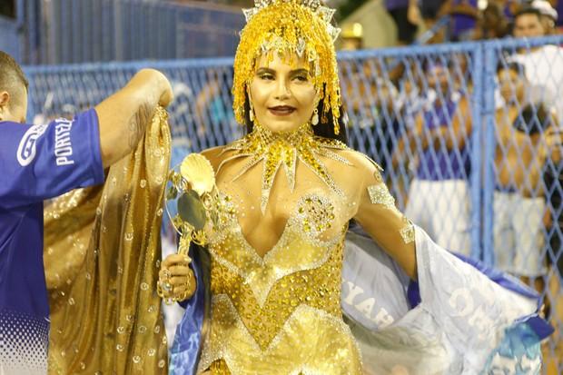 Shayene Cesário Musa da Portela (Foto: Anderson Barros / EGO)