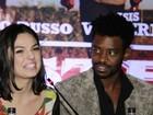 Elenco de 'Faroeste Caboclo' se reúne em noite de pré-estreia