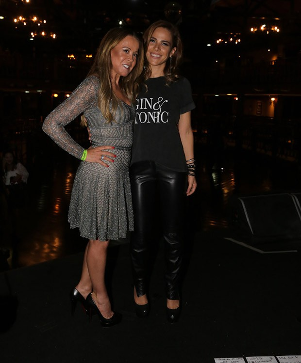 Zilu e Wanessa Camargo (Foto: Claudio Augusto/Brazil News)