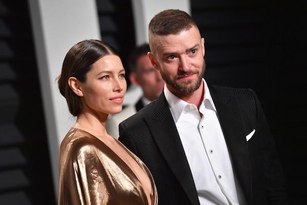 A atriz Jessica Biel e o marido, o cantor e ator Justin Timberlake (Foto: Getty Images)