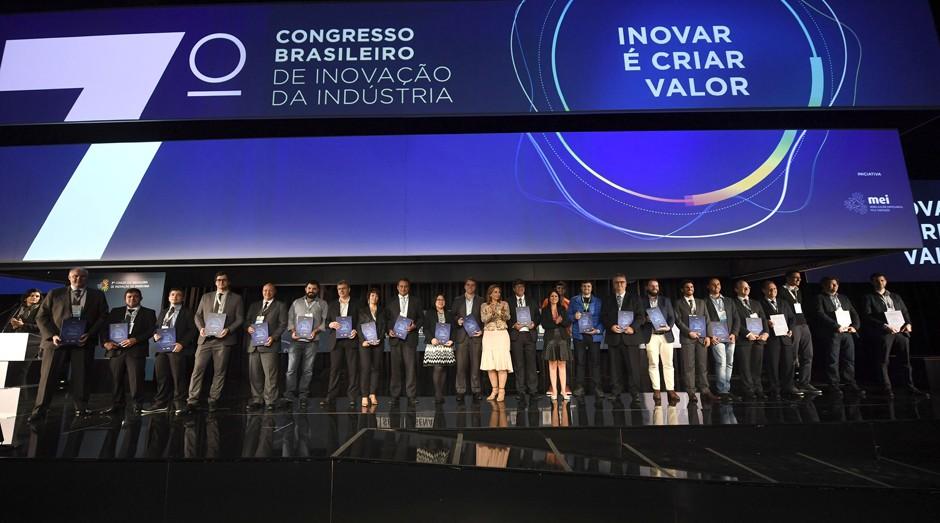 """Lançamento da publicação """"Inovar é criar valor: 22 casos de inovação em micro, pequenas e médias empresas"""" (Foto: Sebrae/Divulgação)"""