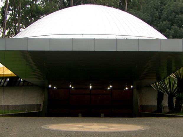 Prefeitura de São Paulo promete reabrir planetário do Parque Ibirapuera até o fim de janeiro (Foto: Reprodução TV Globo)