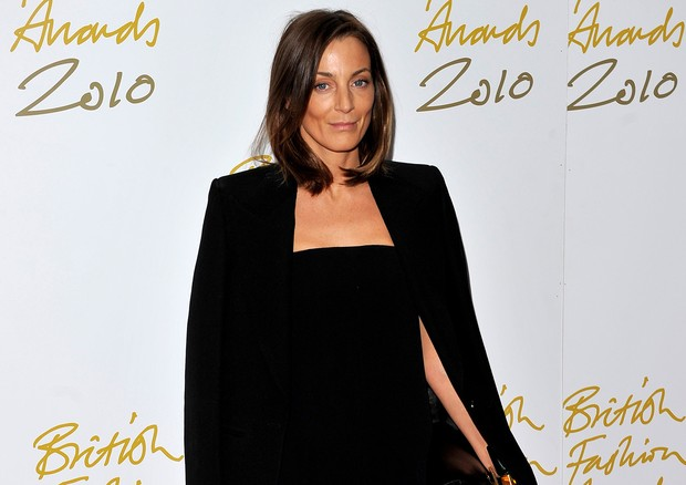 Phoebe Philo no British Fashion Awards 2010 (Foto: Getty Images)