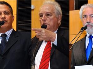 José Esmeraldo, Jamir Malini e Esmael Almeida assumem vagas.  (Foto: Arquivo/A Gazeta)