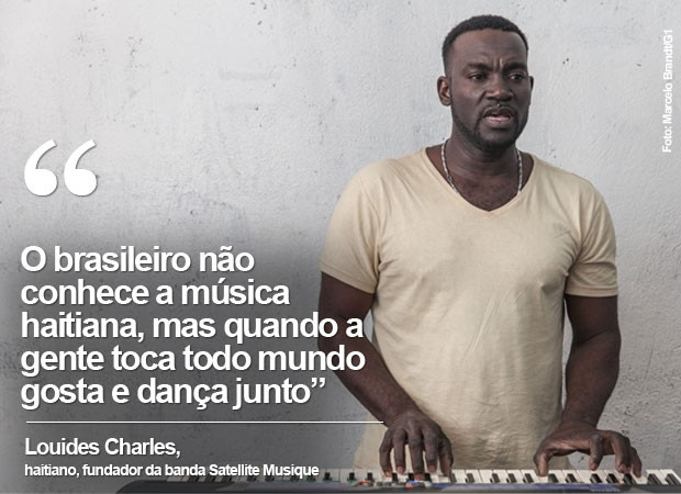 Frase Louides Charles (Foto: Marcelo Brandt/G1)