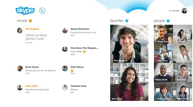 Novo Skype será lançado junto do Windows 8 (Foto: Divulgação)
