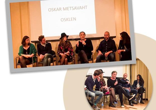 Oskar com Zolaykha Sherzad, Leonardo Bonanni, Andrew Ondrejcak, Molly Yestadt e Valeria Zofranova (Foto: Divulgação)