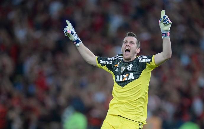 Paulo Victor Flamengo x Atlético-MG (Foto: Fernando Soutello / Ag. Estado)