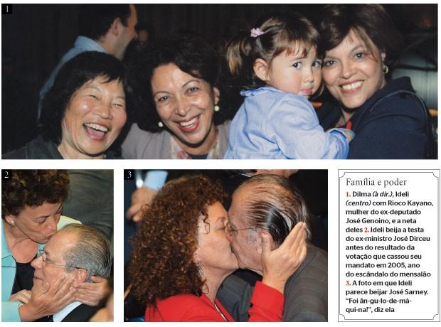 Família e poder (Foto: arq. pessoal (2) e Lula Marques/Folhapress)