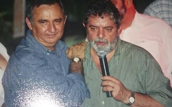 Bumlai e Lula (Foto: reprodução)