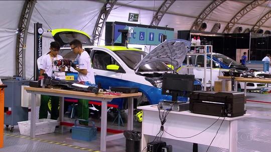 Olimpíada do Conhecimento reúne 1.200 formados em cursos técnicos