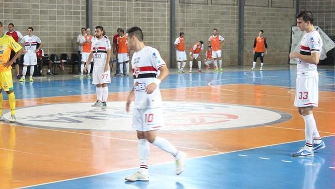 São Paulo, Bauru, Marechal Rondon, Liga Futsal (Foto: Gabriel de Castro / São Paulo/FIB)