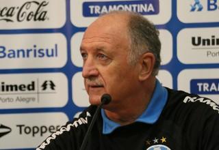 Felipão, Grêmio, Luiz Felipe Scolari, entrevista (Foto: Eduardo Deconto/GloboEsporte.com)