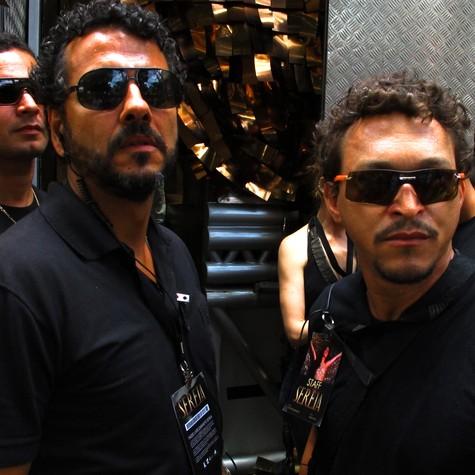 Marcos Palmeira e Fábio Lago (Foto: Estevam Avellar/ TV Globo)