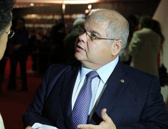 O deputado federal Lúcio Vieira Lima (PMDB - BA) concede entrevista (Foto: Gilmar Felix / Câmara dos Deputados)