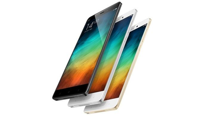 Mi Note Pro é um celular gigante da Xiaomi com especificações poderosas (Foto: Divulgação/Xiaomi)