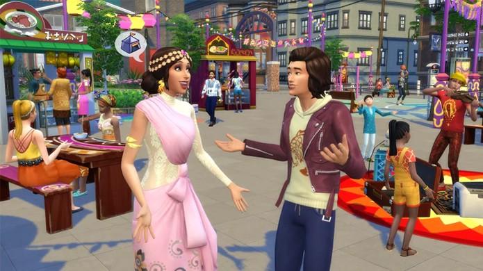 The Sims 4 terá nova expansão City Living para seus Sims viverem na cidade grande (Foto: Reprodução/Polygon) (Foto: The Sims 4 terá nova expansão City Living para seus Sims viverem na cidade grande (Foto: Reprodução/Polygon))