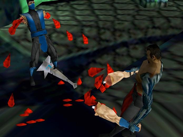 MK4 foi o primeiro título tridimensional da série (Foto: Reprodução)