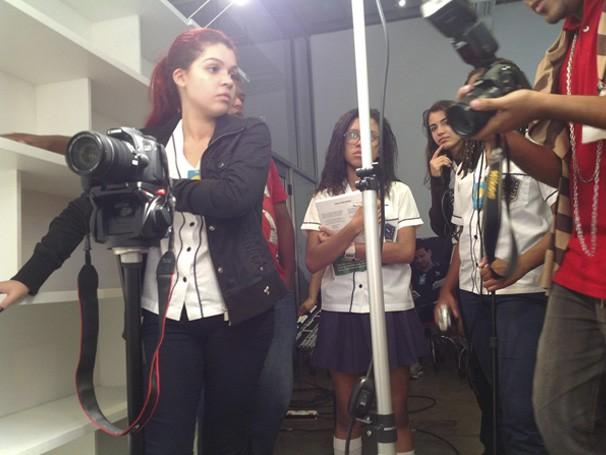 NEPAG realizando gravação de mais um trabalho (Foto: Divulgação/ NEPAG)