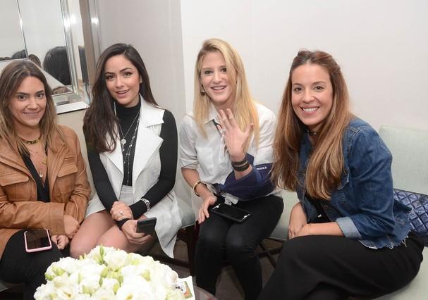 Luciana Marsicano, diretora Geral da Tiffany & Co. recebeu Lu Tranchesi e amigas (Foto: Divulgação)