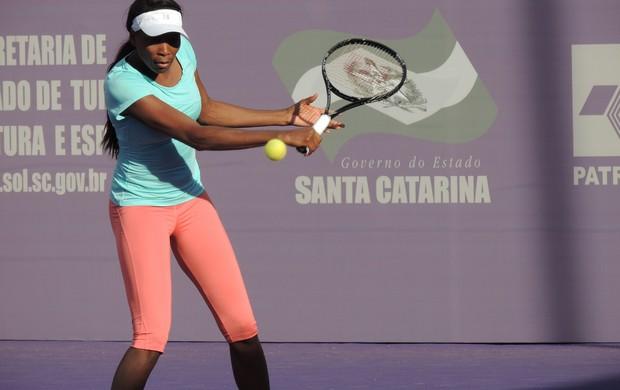 Venus Williams no Brasil Tennis Cup (Foto: Marcelo Silva)
