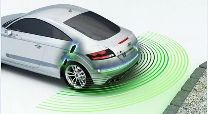 Sensores De Estacionamento Em Carros Usam Sensor Do Tipo Acustico