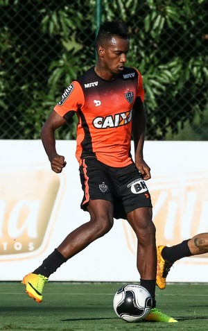 Hyuri, Lucas Pratto, Atlético-MG (Foto: Bruno Cantini/ Flickr Atlético-MG)