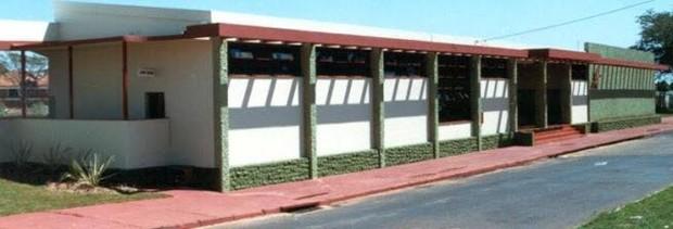 PSF funciona em antiga sede da Estação Ferroviária (Foto: Divulgação/Prefeitura de Regente Feijó)