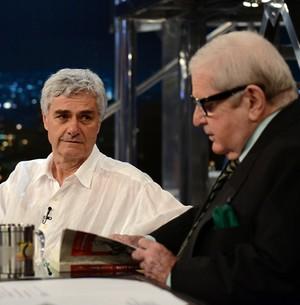 Reinaldo Moraes lança o livro 'O cheirinho do amor' (Ricardo Martins/Programa do Jô)