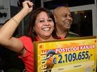 Veja ex-marido que ficou sem prêmio e mais bizarrices em sorteio de loteria