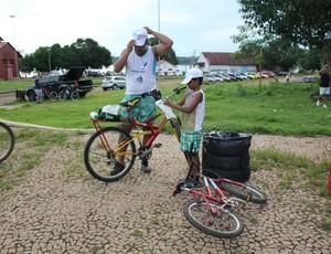Ecobike, em Porto Velho, aconteceu neste final de semana (Foto: Michele Carvalho)