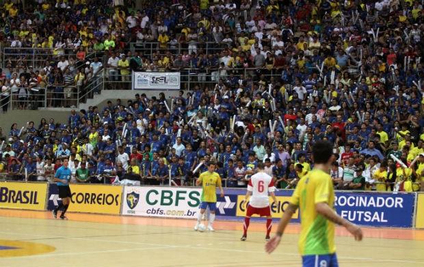 Brasil, de Cabreúva, vence a Polônia por 3 a 1, em Natal (Foto: Zerosa Filho-CBFS)