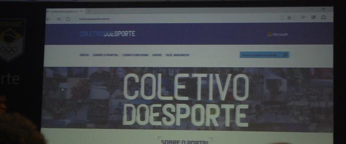 Plataforma Coletivo do Esporte será iniciada no dia 7 de abril (Foto: Marcos Guerra)