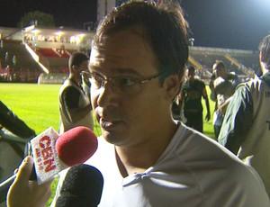 Dado Cavalcanti, técnico do Mogi Mirim (Foto: Reprodução / EPTV)