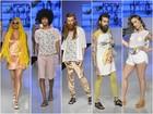 Tatuador, designer e estudantes têm dia de modelo no Vitória Moda